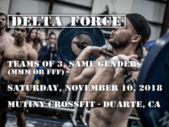 Delta Force 2018