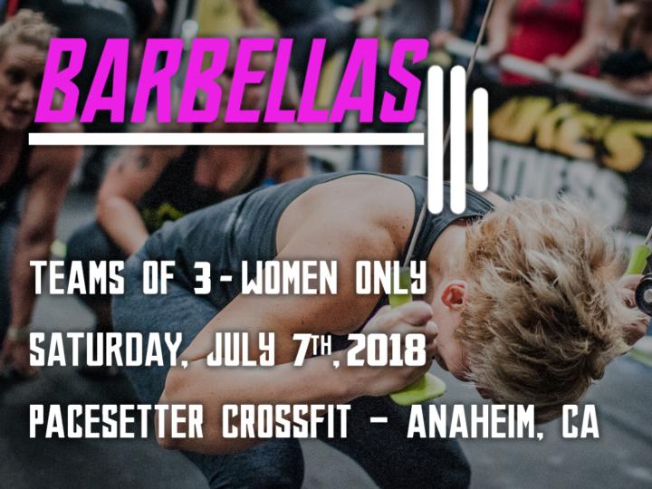 Barbellas 2018