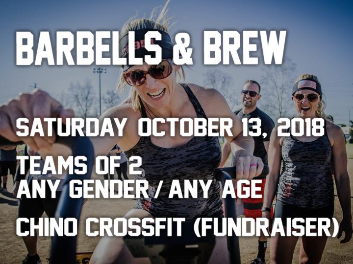 Barbells & Brew Fundraiser 2018